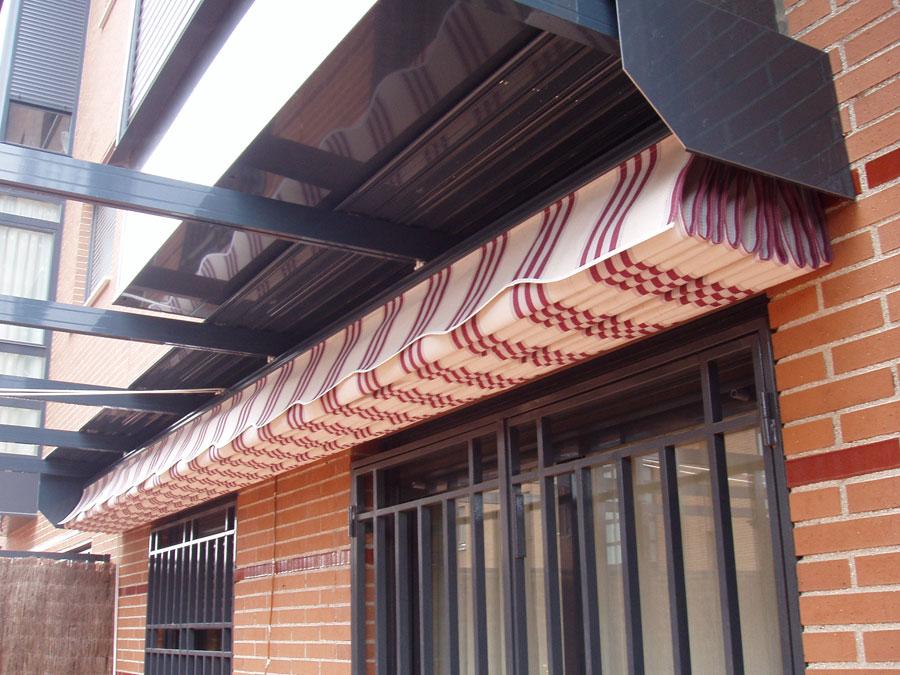 P rgolas y toldos planos for Cuerdas para toldos